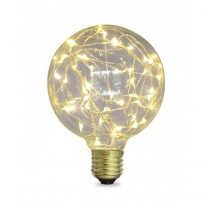 LED bulbs Starlight Globe G95 2W E27 2700K