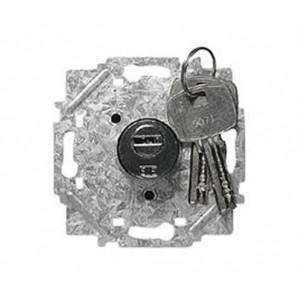 """Mechanism """"Niessen"""" Arc - Push-button key with 2 positions 8153.2"""