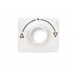 """Cover switch 3 positions white """"Niessen"""" Arc 8253.1 BL"""