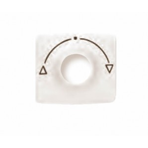 """Cover switch 3-position, ivory """"Niessen"""" Arc 8253.1 BM"""