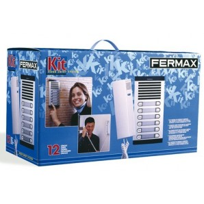 Kits doormen and video door entry system - KIT GOALKEEPER CITYMAX 4+N 4/L FERMAX 6204