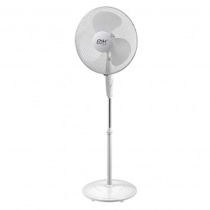 Stand fan 40cm round base EDM 45W 33510