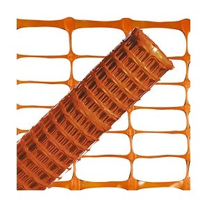 Mesh and trellises - Orange marking fabric 1.0 metres. 50 m.