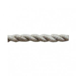 Textile Cable twisted 2x0,75mm lino roll 25m EDM 11961