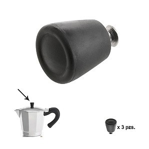 Knob Coffee maker Aluminium Induction 6 / 9 / 12 Cups (3 pieces) 05056222