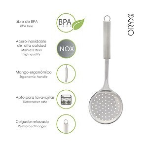 Slotted spoon Kitchen Stainless Steel, 34x11,5 (H) cm 05076022