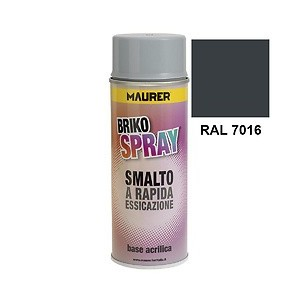 Spray Pintura Gris Antracita 400 ml. 12060480