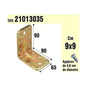 Support For Wood Angle 65x90x90 mm 21013035