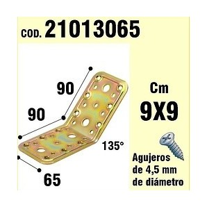 Comprar Support For Wood Angle 65x90x90 mm/135° 21013065 online