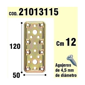 Brackets for wood - Support For Wooden Plate Bicromatada 50x120 mm 21013115