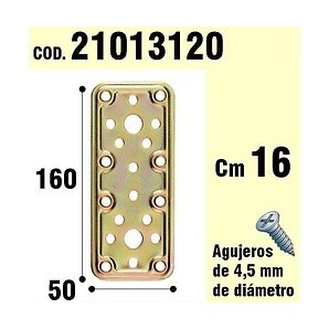 Support For Wooden Plate Bicromatada 50x160 mm 21013120