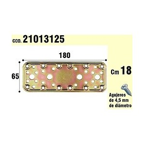 Brackets for wood - Support For Wooden Plate Bicromatada 65x180 mm 21013125