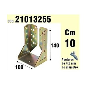 Support For Wood Inner Wings Bicromatado 100 mm 21013255