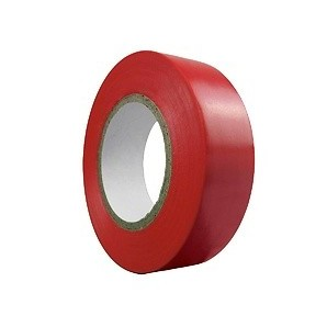 Insulating tape 20 m. x 19 mm Red household 14060065