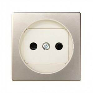 Tapa enchufe 2P blanco SIMON 82040-64