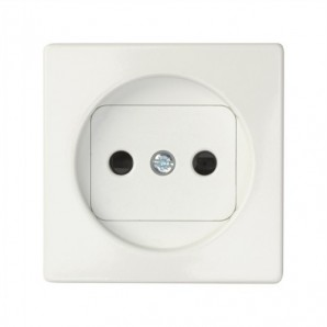 Tapa enchufe 2P blanco SIMON 82040-30