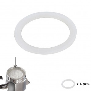 Comprar Gasket Silicone Rubber Coffee Maker Aluminum Classic / Induction 3 Cups (4 Units) 05056101 online