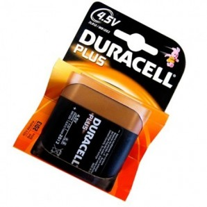 Battery case from DURACELL Plus 3R12-4.5 V Blister pack 1pcs