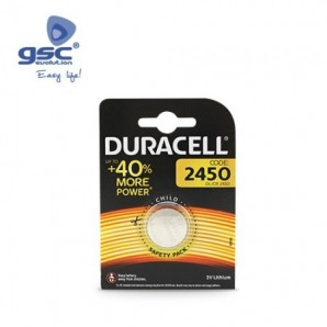 Pila litio DURACELL DL2450 Blister 1