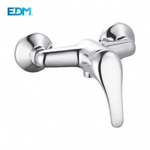 "Wall and countertop - SINGLE-LEVER FAUCET BUILT-IN SHOWER - SERIES ""H2O"" EDM"