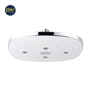 """Table lamps and handles shower - HEAD SHOWER - SQUARE - CHROME - SERIES """"ANTARCTIC"""" - EDM"""