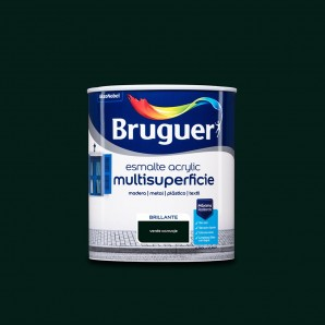 Enamels - ENAMEL ACRYLIC MULTISURFACE BRIGHT GREEN 0,750 L CARRIAGES BRUGUER