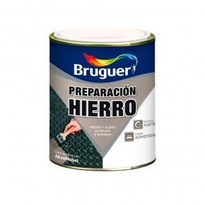 Paintings specific - PREPARATION FOR IRON-FAST DRYING 0.750 L GRAY BRUGUER