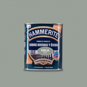 HAMMERITE ENAMEL METAL FORGE GREY 0.750 L