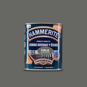 HAMMERITE ENAMEL METAL FORGING DARK GREY 0.750 L