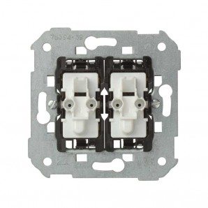 Comprar Double switch with light Simon 75394-39 online