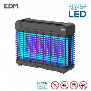 Mata insectos led profesional 10w 50m2 edm