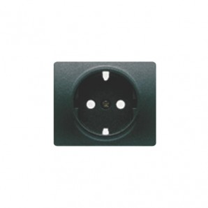 Tapa base enchufe seguridad antracita cosso BJC 22724-AC