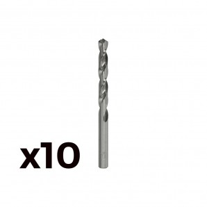 Pack 10 brocas cilind. a.rapido de 1.25 mm.  m012