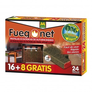 Pills on - ecologicas - pack 16+8 units - fuegonet