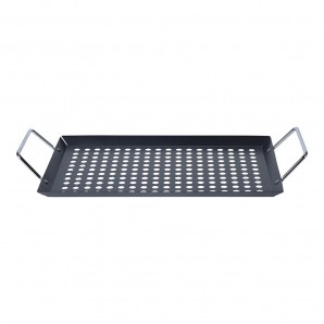 Tray for bbq with handles 20x30cm