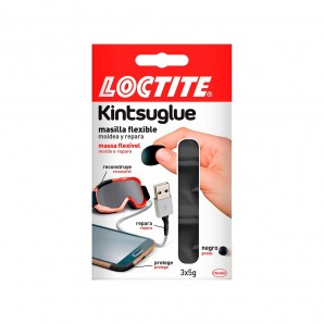 Adhesives and silicone - Loctite kintsuglue negro 3x5g