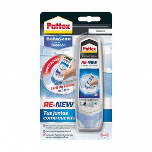 Adhesives and silicone - Pattex re-new 100g