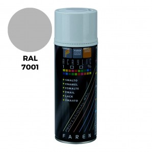 Pintura - Spray ral 7001 gris plata 400ml