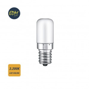 Outlet - Bombilla led pebetero e14 1,8w 130 lumens  3.200k luz calida edm